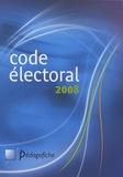Jean-Michel Coffy et Géraldine Rodarie - Code électoral 2008.