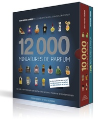 Jean-Michel Courset - 12 000 miniatures de parfum - 2 volumes : 10 000 miniatures de parfum + 2 000 miniatures de parfum.