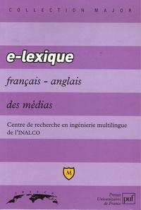 Jean-Michel Daube et  INALCO - E-lexique français-anglais des médias.