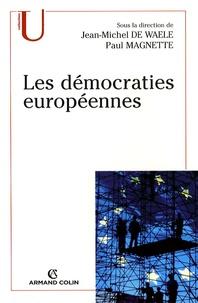Deedr.fr Les démocraties européennes - Approche comparée des systèmes politiques nationaux Image