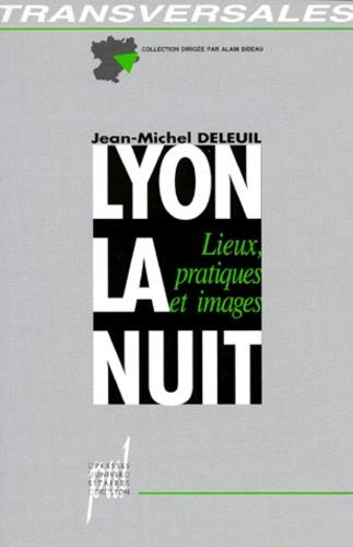 LYON LA NUIT. Lieux, pratiques et images
