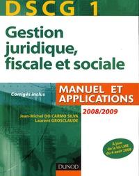 Jean-Michel Do Carmo Silva - DSCG 1 Gestion juridique, fiscale et sociale.