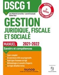 Jean-Michel Do Carmo Silva et Laurent Grosclaude - DSCG1 Gestion juridique, fiscale et sociale - Manuel.
