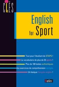 Jean-Michel Dubé et Jean-Marc Chamot - English for sport.