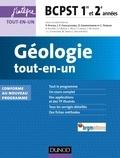 Jean-Michel Dupin et Jean-François Fogelgesang - Géologie tout-en-un - BCPST 1re et 2e années.