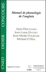 Jean-Michel Fournier et Jean-Louis Duchet - Manuel de phonologie de l'anglais.