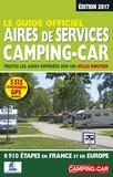 Jean-Michel Galès - Le guide officiel des aires de services camping-car - Toutes les aires repérées sur un atlas routier, 6910 étapes en France et en Europe.