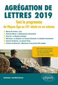 Jean-Michel Gouvard et Delphine Pierre - Agrégation de Lettres - Tout le programme du Moyen-Age au XXe siècle en 1 volume.