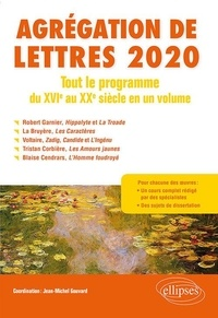 Jean-Michel Gouvard - Tout le programme du Moyen Age au XXe siècle en un volume - Agrégation de Lettres.