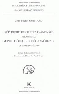 Accentsonline.fr Répertoire des thèses françaises relatives au monde ibérique et ibéroaméricain des origines à 1980 Image