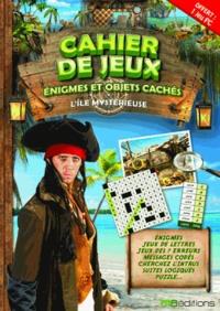 Jean-Michel Jakobowicz - Cahier de jeux, énigmes et objets cachés : L'île mystérieuse - 1 livre + 1 jeu PC.