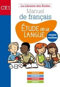 Jean-Michel Jamet et Muriel Pujol - Etude de la langue CE1 - Manuel de français.