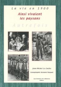 Jean-Michel Le Corfec - La vie à la campagne - Collection Bernard Pasquet.