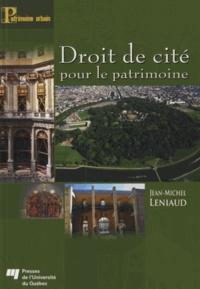 Droit de cité pour le patrimoine.pdf