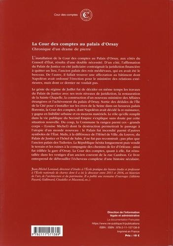 La Cour des comptes au palais d'Orsay. Chronique d'un drame de pierre