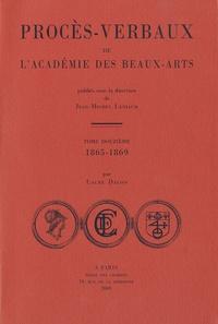 Jean-Michel Leniaud et Sybille Bellamy-Brown - Procès-verbaux de l'Académie des beaux-arts - Tome 12, 1865-1869.