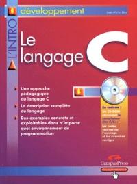 Jean-Michel Léry - Le langage C. 1 Cédérom