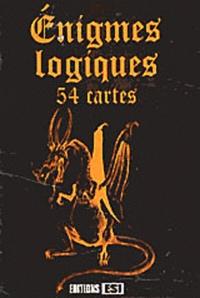 Jean-Michel Maman - Enigmes logiques - 54 cartes.