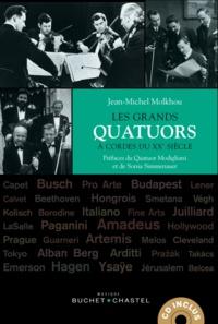 Jean-Michel Molkhou - Les grands quatuors à cordes du XXe siècle. 1 CD audio