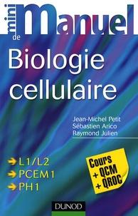 Mini manuel de biologie cellulaire - Cours + QCM/QROC.pdf