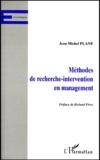 Jean-Michel Plane - Méthodes de recherche-intervention en management.