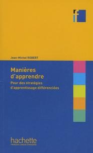 Manières dapprendre - Pour des stratégies dapprentissage différenciées.pdf