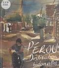 Jean-Michel Rodrigo et Hélène Perdereau - Pérou, destination bidonvilles - Un carnet de voyage.