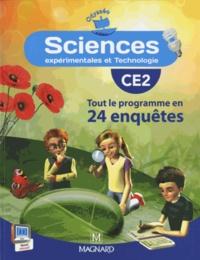 Jean-Michel Rolando et Patrick Pommier - Sciences CE2 Odysséo - Tout le programme en 24 enquêtes.