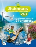Jean-Michel Rolando et Patrick Pommier - Sciences CM1 Odysséo - Tout le programme en 24 enquêtes.