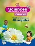 Jean-Michel Rolando et Patrick Pommier - Sciences expérimentales et technologie CM1-CM2 - Tout le programme en 48 enquêtes.