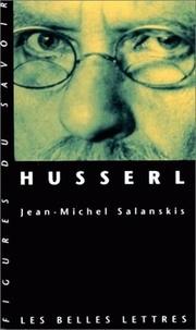 Jean-Michel Salanskis - Husserl.