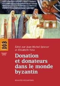 Deedr.fr Donation et donateurs dans le monde byzantin - Actes du colloque international de l'Université de Fribourg, 13-15 mars 2008 Image