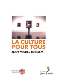 Jean-Michel Tobelem - La culture pour tous - Des solutions pour la démocratisation ?.