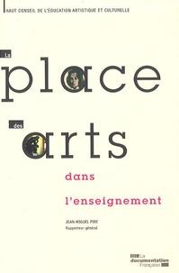 Jean-Miguel Pire - La place des arts dans l'enseignement.