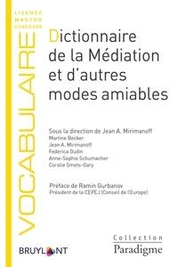 Dictionnaire de la médiation et d'autres modes amiables - Jean Mirimanoff |