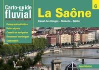 Jean Morlot - La Saône, Canal des Vosges, Moselle, Seille - Carto-guide fluvial.