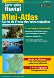 Jean Morlot et Henri Vagnon - Mini-atlas des voies navigables de France - Edition trilingue français-anglais-allemand.