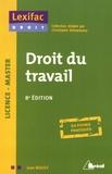 Jean Mouly - Droit du travail.