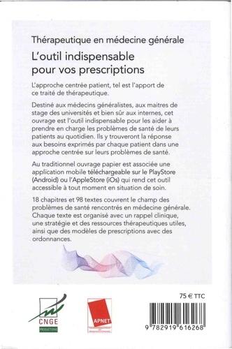 Thérapeutique en médecine générale 3e édition