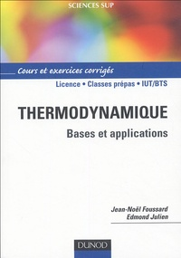 Thermodynamique - Bases et explications, Cours et exercices corrigés.pdf