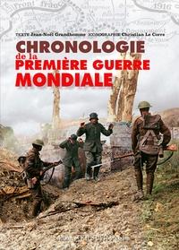 Jean-Noël Grandhomme - Chronologie de la Première Guerre mondiale.