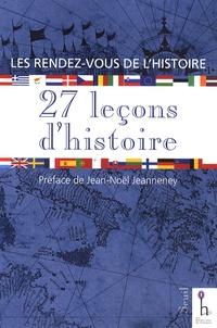 Jean-Noël Jeanneney - 27 leçons d'histoire.