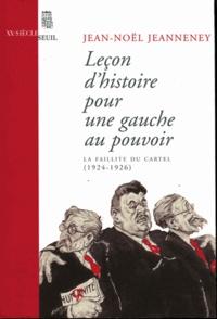 Leçon dhistoire pour une gauche au pouvoir - La faillite du Cartel (1924-1926).pdf