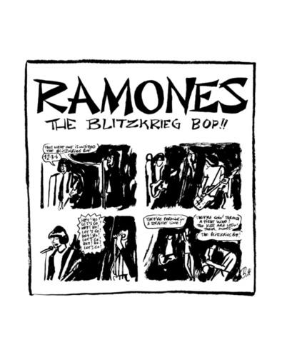 Ramones. 18 nouvelles punk et noires