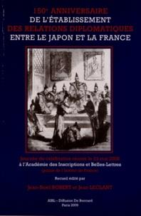 Jean-Noël Robert et Jean Leclant - Célébration du 150e anniversaire de l'établissement des relations diplomatiques entre le Japon et la France - Journée réunie le 23 mai 2008 à l'Académie des Inscriptions et Belles-Lettres (palais de l'Institut de France).