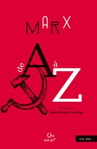 Jean-Numa Ducange - Marx de A à Z.