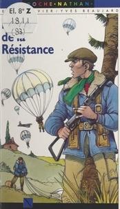 Jean Ollivier et Yves Beaujard - Héros de la Résistance.