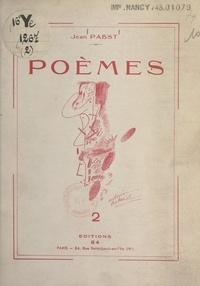 Jean Pabst - Poèmes (2).