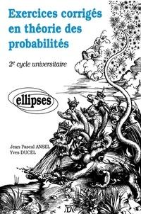 Galabria.be Exercices corrigés en théorie des probabilités - 2e cycle universitaire Image
