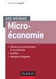 Jean-Pascal Gayant - Microéconomie.